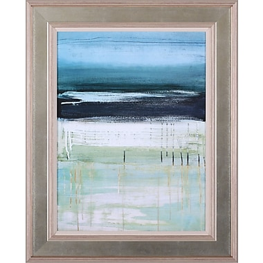 Art Effects Sea and Sky I by Heather McAlpine Framed Painting Print