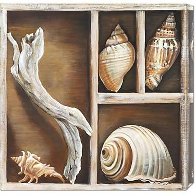 Global Gallery 'From the Ocean I' by Ted Broome Painting Print on Wrapped Canvas
