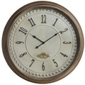 Cooper Classics Oversized 24'' James Wall Clock