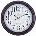 Cooper Classics Oversized 24.5'' Calhoun Wall Clock
