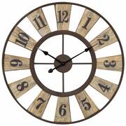Cooper Classics Oversized 28'' Minden Wall Clock