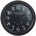 Cooper Classics Oversized 24.5'' Norton Wall Clock