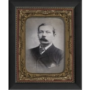 The Artwork Factory Tintype Photographs Sir Arthur Conan Doyle Framed Photographic Print