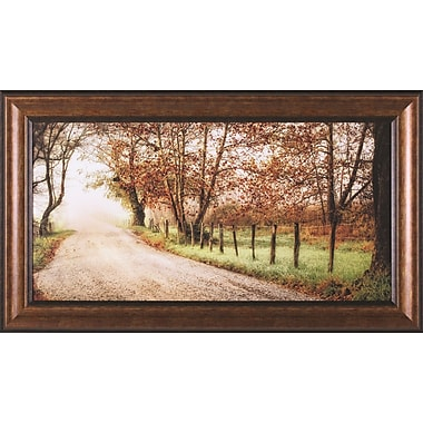 Art Effects Fog Ahead by D. Burt Framed Painting Print