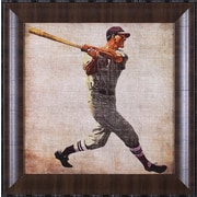 Art Effects Vintage Sports VI by John Butler Framed Painting Print