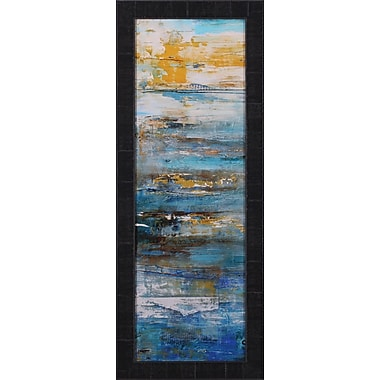 Art Effects Beyond the Sea I by Erin Ashley Framed Painting Print