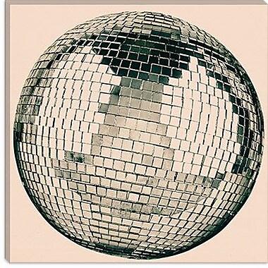 iCanvas Modern Disco Ball Graphic Art on Canvas; 18'' H x 18'' W x 0.75'' D