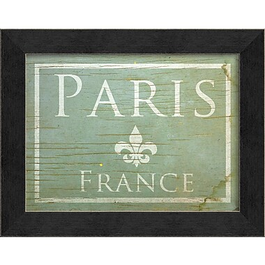 The Artwork Factory Paris Framed Textual Art
