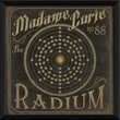 Blueprint Artwork Radioactive Elements Madame Curie No 88 Radium Framed Graphic Art
