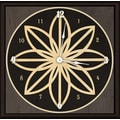 Green Leaf Art Star 11'' Art Wall Clock