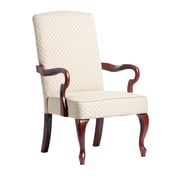 Comfort Pointe Derby Fabric Arm Chair; Beige