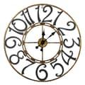 Cooper Classics Oversized 25.25'' La Salle Wall Clock