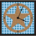Green Leaf Art Lone Star 20'' Art Wall Clock