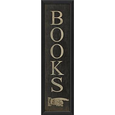 The Artwork Factory Books Framed Textual Art