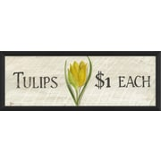 The Artwork Factory Tulips $1 Framed Graphic Art