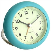 Bai Design Rondo Travel Alarm Clock; Landmark Turquoise