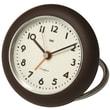 Bai Design Rondo Travel Alarm Clock; Brown