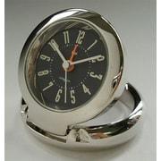 Bai Design Diecast Travel Alarm Clock; Cyber Black