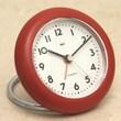 Bai Design Rondo Travel Alarm Clock; Landmark Red