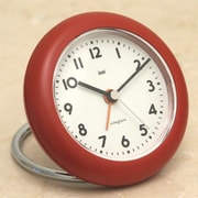 Bai Design Rondo Travel Alarm Clock; Landmark Red