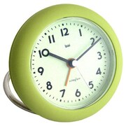 Bai Design Rondo Travel Alarm Clock; Landmark Chartreuse
