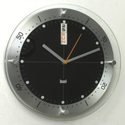 Bai Design 11.6'' Timemaster Wall Clock; Black