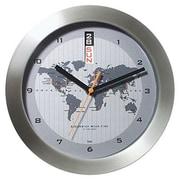 Bai Design 11'' GMT Wall Clock with World Map