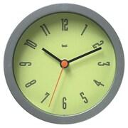 Bai Design 6'' Studio Modern Wall Clock; Cyber Chartreuse