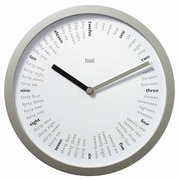 Bai Design 10'' Spellbound Designer Wall Clock