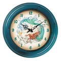 Rightside Design I Sea Life 18'' Mermaid Wall Clock