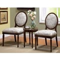 Hokku Designs Quincy 3 Piece Cotton Slipper Chair and Table Set