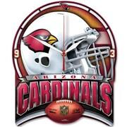 Wincraft NFL High Def Plaque Wall Clock; Arizona Cardinals