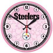 Wincraft NFL 12.75'' Wall Clock; Pittsburgh Steelers