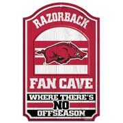 Wincraft NCAA Graphic Art Plaque; University of Arkansas