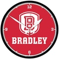Wincraft 12.75'' Bradley University Wall Clock