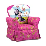 KidzWorld Disney Kids Minnie Mouse Cuddly Cuties Skirted Rocking Chair
