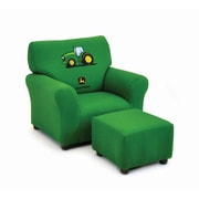 KidzWorld Kids Club Chair and Ottoman