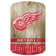 Wincraft NHL Graphic Art Plaque; Detroit Red Wings