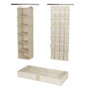 Household Essentials Closet Storage Set; Ivory