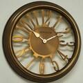 Ashton Sutton Classic 16'' Wall Clock; Copper