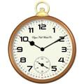 Ashton Sutton Elgin Classic 14''  Pocket Watch Wall Clock