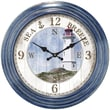 Ashton Sutton Decorative Home 18'' Lighthouse Dial Wall Clock