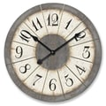 Ashton Sutton 23'' Louvre Large Wall Clock
