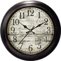 Ashton Sutton Decorative Home 18'' Wall Clock