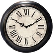 Ashton Sutton Decorative Home 18'' Classic Roman Numeral Wall Clock