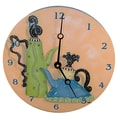 Lexington Studios Home and Garden 10'' Whimsical Teapots Wall Clock