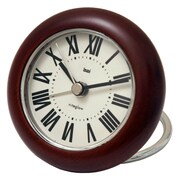 Bai Design Roma Rondo Wooden Travel Alarm Clock