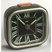 Bai Design Squeeze Me Travel Alarm Clock; Roma Black