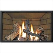 Napoleon Decorative Porcelain Fireplace Insert; Decorative Brick in Sandstone