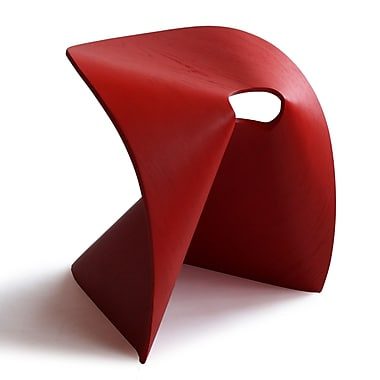OSIDEA USA Fortune Cookie Stool; Red